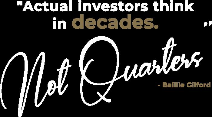 Actual Investors
